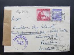 BRIEF Chile Santiago - Waidhofen Ybbs 1946 Zensur  // D*42645 - Chili