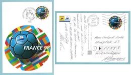 Carte Maximum 1998 -  Coupe Du Monde 1998 - PAP - Ayant Circulé - YT 3140 - 1998 – France