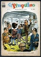"""CHILE REVISTAS: """"EL PINGÜINO"""" - 1966. - [5] Erotic & Fine Nudes (...-1960)"""