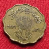 Sudan 10 Millim  Ah1396 - 1976 Km# 62 - Sudan
