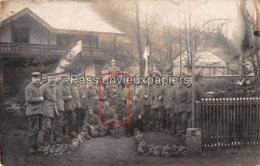 CARTE PHOTO LETTENBACH 1910 ABRESCHVILLER  MONUMENT Du Generalfeldmarschall VON HAESELER - France