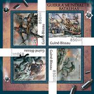 Guinea Bissau 2012  World War II,battles Of Berlin - Guinea-Bissau