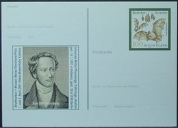 Germany - Stamped Stationery Card 2001 Bat - Bats