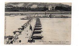 38 - VIENNE - Manoeuvre De Pontage Sur Le Rhône - Pont Coupé Pour Le Passage D'un Bateau - Animée  (T98) - Vienne