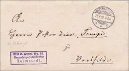 Generalsuperintendantur Helmstedt / Von Wolfenbüttel Nach Vorfelde 1902 - Germania