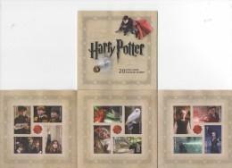 USA (2013) - 20 Stamp Set -  /  Harry Potter - Cinema - Cinema