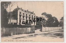 CPA - 33 - ARCACHON - Hôtel Moderne Dans La Forêt - Entrée - Plan Pas Courant - Arcachon