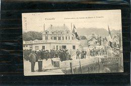 TROUVILLE Embarcadére Du Bateau Du Havre à Trouville - Trouville