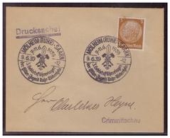 Dt- Reich (006817) Propaganda Umschlag Drucksache Mit Sonderstempel Mühlheim HJ 3.Gebietsführerlager Gest. 9.6.1939 - Germania