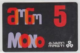 GEORGIA MAGTI 5 LARI MONO - Géorgie