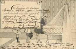 Monsieur Et Madame Marius Fagnaire Ont Le Plaisir De Vous Faire Part De La Naissance De Leur Fils Jean RV - Bébés