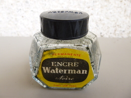 Flacon Encre Waterman Noir - Encriers