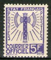 Service N°12 **    - Cote 25€ - - Officials