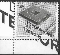 """2017 Allem. Fed. Deutschland  Mi. 3276 **MNH  EUL 25 Jahre Stiftung """"Topographie Des Terrors"""" - [7] Repubblica Federale"""