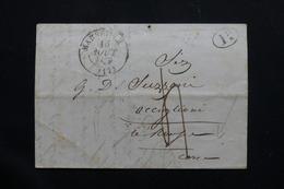 FRANCE - Lettre De Marseille Pour Occiglioni  ( Corse ) - L 54385 - 1801-1848: Precursors XIX