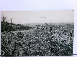 AK Malancourt Nach Der Zerstörung; Ruinen, Trümmer; Feldpost 1917 - Frankrijk