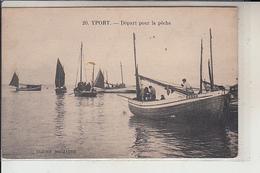 76 - YPORT - Départ Pour La Pêche   ( CAIQUES ) - Yport