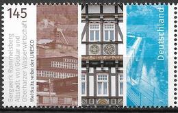 2017 Deutschland Allem. Fed. Germany  Mi. 3299**MNH  UNESCO-Welterbe: Bergwerk Rammelsberg, Altstadt Von Goslar, - Unused Stamps