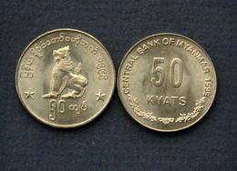 Myanmar (Burma) 50 Kyats 1999 Km63 Münzen COIN CURRENCY - Myanmar
