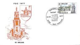D - [903295]TB//-Belgique 1977 - 'SINT-NIKLAAS', Eglises Et Cathédrale - Eglises Et Cathédrales
