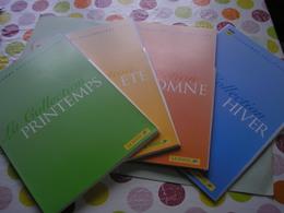 FRANCE - ANNEE 1998 - Programme Philatelique De La Poste Avec Tous Les TP Et Les Notices De Chaque Timbres En 4 Chemises - 1990-1999