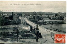 N°4528 T -cpa Le Mans -le Pont Et La Sarthe- - Le Mans