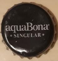 ESPAÑA AGUA MINERAL AQUABONA CHAPA. USADO - USED. - Soda