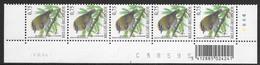 Buzin 3391xx Vuurgoudhaantje/Roitelet Triple-bandeau Datumstr.02/03/06 Bande Datée Diepdrukplaat Nr C58595 Onpaar/impair - 1985-.. Birds (Buzin)