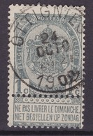 N° 53  OTTIGNIES - 1893-1907 Armoiries