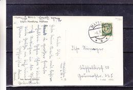 Allemagne - Empire- Carte Postale De 1941 - Oblit Mattsee - Exp Vers Düsseldorf - Avec Timbre Spécial ! -vue Du Chateau - Storia Postale