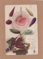 CPA Humour Amour Oracle Des Légumes à L'usage Des Amoureux Destin Voyance - Flowers, Plants & Trees