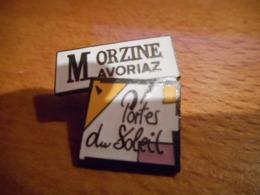 A049 -- Pin's Morzine Avoriaz Portes Du Soleil - Villes
