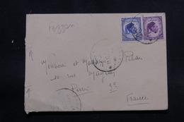 LIBYE - Enveloppe De Sebha ( Fezzan ) Pour La France , Affranchissement Plaisant - L 54410 - Libye