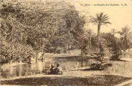 06 - NICE - LE BASSIN DU CHÂTEAU - L.M. - Non Classés