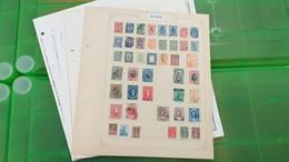 LOT N° E 304 RUSSIE Collection Sur Page D'albums Neufs * Ou Obl. - Francobolli