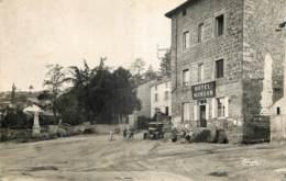 42 - SAINT JEAN SOLEYMIEUX - MONUMENT AUX MORTS - HOTEL MONDON - Saint Jean Soleymieux