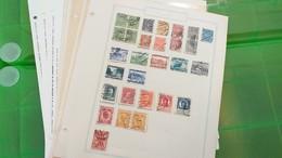 LOT N° E 303 POLOGNE Collection Sur Page D'albums Neufs * Ou Obl. - Timbres