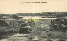 22 Ile De Bréhat, Le Canon D'alarme Et La Corderie - Ile De Bréhat