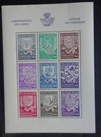 BELGIE  1941     Blok 10   Wapenschilden   Postfris **   CW  20,00 - Blocks & Kleinbögen 1924-1960