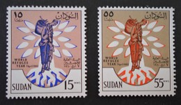 ANNEE MONDIALE DU REFUGIE 1960 - NEUFS ** - YT 125/26 - MI 161/62 - Soudan (1954-...)