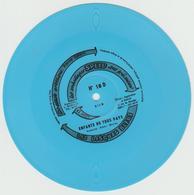 """FLEXI DISC SOUPLE PUBLICITAIRE """"les Embalages SPEED """" N°18D - 1970 - Les Disques Bleus. - Formats Spéciaux"""