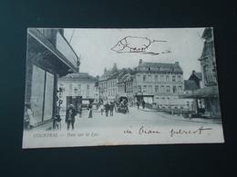 Courtrai - Kortrijk  Pont Sur La Lys             ( 2 Scans ) - Kortrijk