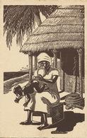 En Afrique  Le Lavement à L' Eau De Piment . Boirau. Chili Water Enema. Scatology - Unclassified