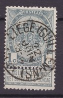 N° 53   LIEGE GUILLEMINS   PRIX FIXE - 1893-1907 Armoiries