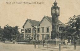 Mahé Seychelles Court And Treasury Building . Palais Justice . Horloge . Lampadaire. - Seychelles