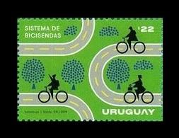 Uruguay 2019 Mih. 3706 Bicycle System MNH ** - Uruguay