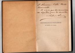 DESEMBARCOS Pasajeros En Tiempo De Guerra. Federico Obanos. 1897 (signed) - Histoire Et Art