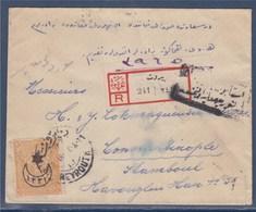 = Liban Enveloppe De Beyrouth 26. 8.18 à Constantinople - Lebanon