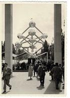 Carte Photo -( 2 Unitées) EXPOSITION UNIVERSELLE  BRUXELLE 1958 ( Belgique) - Universal Exhibitions