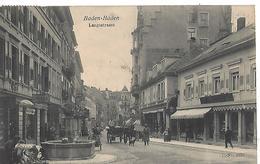 Allemagne   Baden-baden   Langestrasse - Baden-Baden